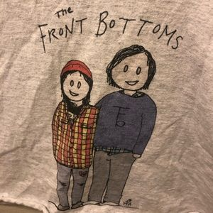 The Front Bottoms T-shirt Crop Top